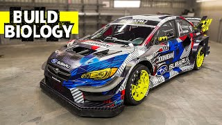 The Wildest Subaru WRX STI Ever Built?? Travis Pastrana's 862hp Gymkhana Car