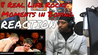 8 Real Life Rocky Moments in Boxing REACTION | DaVinci REACTS