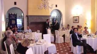 Rotary Club Firenze Sesto-Calenzano. Serata conviviale di martedì 10 luglio 2012 a Villa Stanley.
