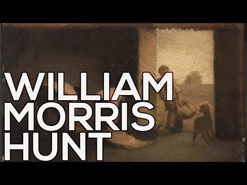 William Morris Hunt: A collection of 128 paintings (HD)