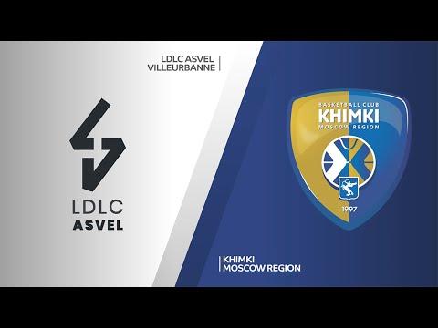 LDLC ASVEL Villeurbanne-Khimki Moscow Region Highlights | Turkish Airlines EuroLeague RS Round 15