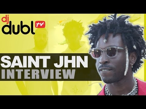 SAINt JHN Interview - Writing 'Brown Skin Girl' for Beyonce, Fire In The Booth & new 'collection'