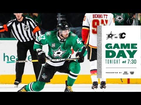 NHL 18 PS4. REGULAR SEASON 2017-2018: Calgary FLAMES VS Dallas STARS. 02.27.2018. (NBCSN) !