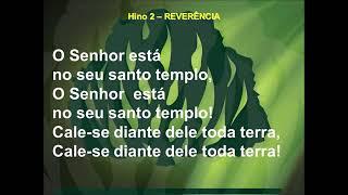 Hino 02   Reverência