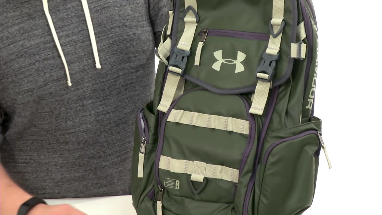 b06a8a9415 Under Armour UA Coalition Backpack SKU 8521953 - YouTube