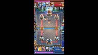 Clash Royale clan war preparation battle #2
