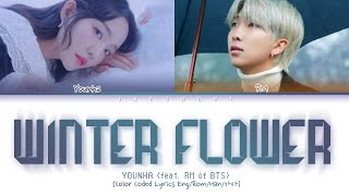 Download Lagu YOUNHA feat BTS RM - WINTER FLOWER Color Coded Han MP3