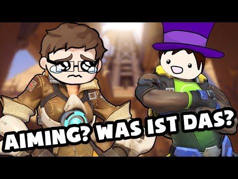 Aiming wie eine Kartoffel 🕹️ Overwatch [Deutsch/German]