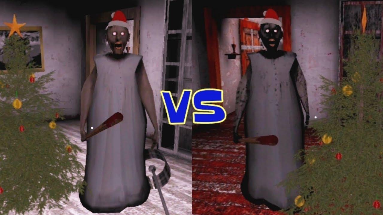 Granny vs Nightmare Granny - YouTube