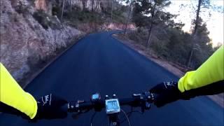 Bajada Cresta del Gallo con asfalto nuevo 28/01/2015