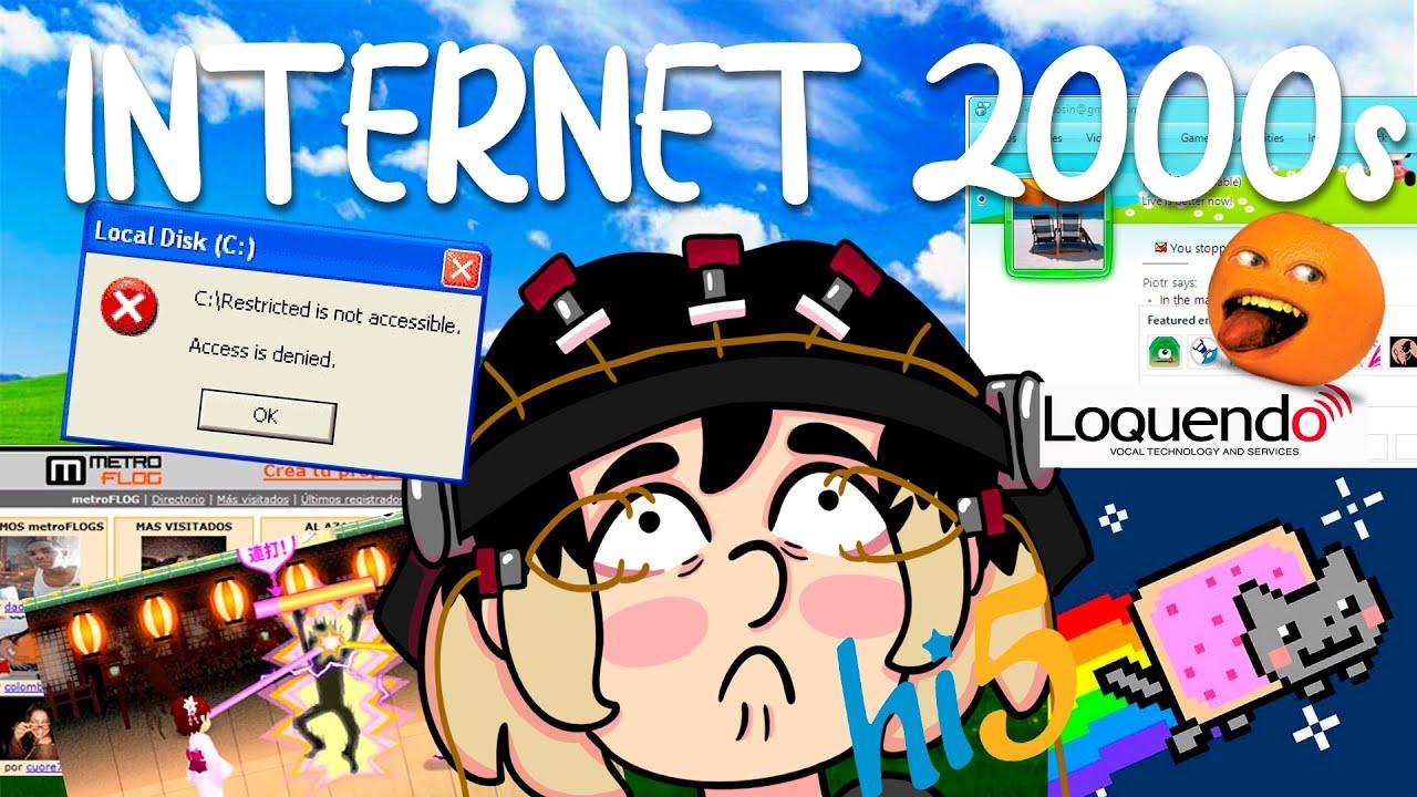 ¿Como era el internet en mi infancia? | Animación