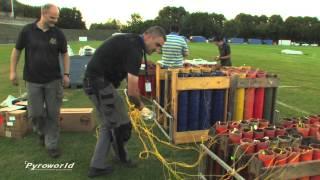 Pyronale 2013:  Behind the Scenes - Setup - fireworks - Feuerwerk - vuurwerk