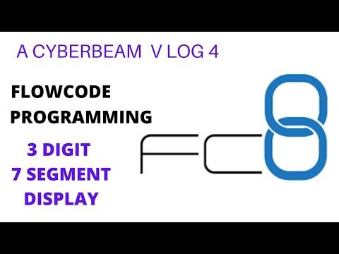3 Digits #7Segmentdisplay Multplexing Using #flowcode And #arduino