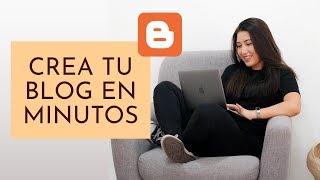 Cómo Crear un BLOG en Blogger GRATIS y BONITO 😍😱 (Tutorial 2019)
