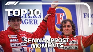 Top 10 Moments In Ayrton Senna And Alain Prost's Rivalry