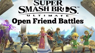 OPEN FRIEND BATTLES?!?! -SMASH ULTIMATE FRIEND FIGHTS thumbnail