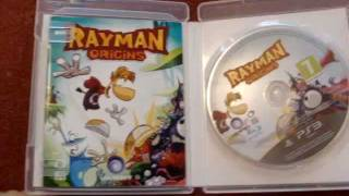 Rayman Origins (Exclusive edition) unboxing!