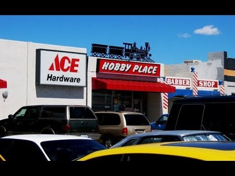 Ace Hardware - The Hobby Place at Ace Tour