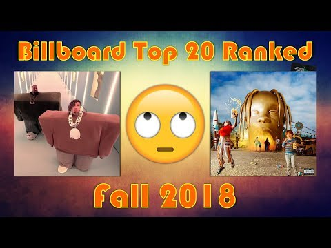 Billboard Hot 100: Fall 2018 - (Top 20 Ranked) [Andrew Prep] Mp3