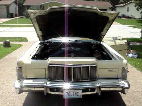 1976 Lincoln Continental One Of The Last Dinosaurs Youtube