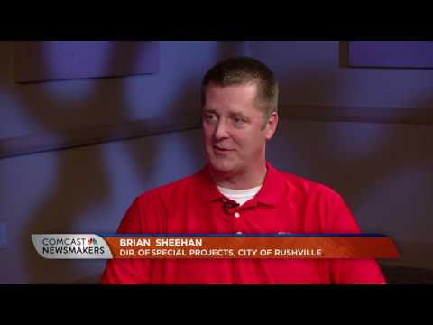 Comcast Newsmakers Preview: Dir. of Special Projects Brian Sheehan, City of Rushville (IN-2016)