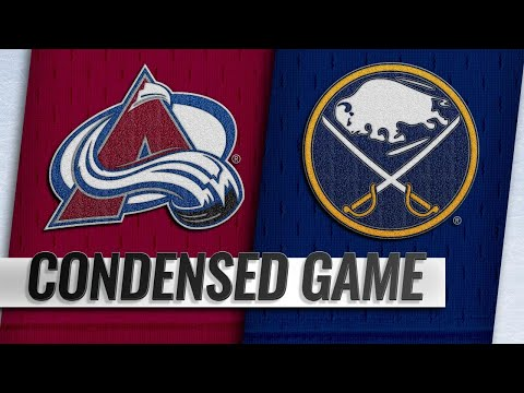 10/11/18 Condensed Game: Avalanche @ Sabres