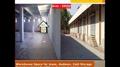 Warehouse Space for lease, Godown, Cold Storage for rent in Bhiwandi, Open fenced land for HEM equip