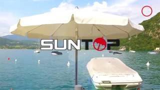 SUNTOP - L'ABBAYE DE TALLOIRES - Parasol Miami - Post production sur annecy