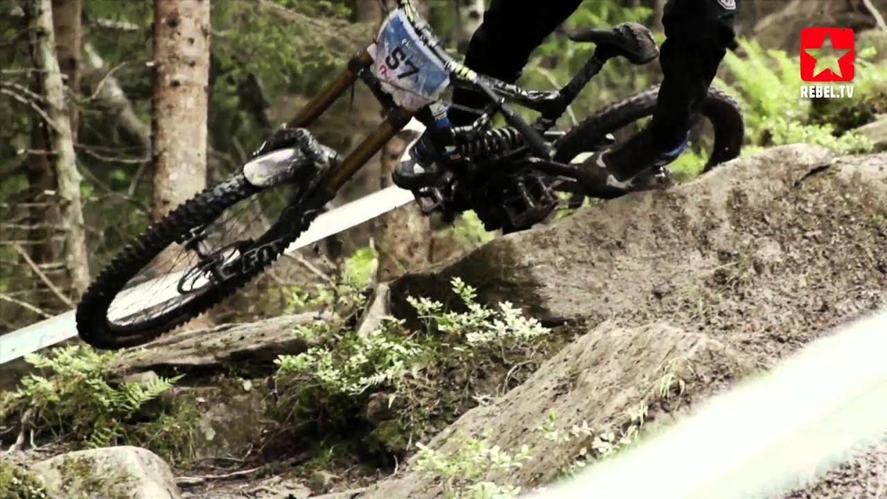 Mountainbike Downhill In Voss Youtube