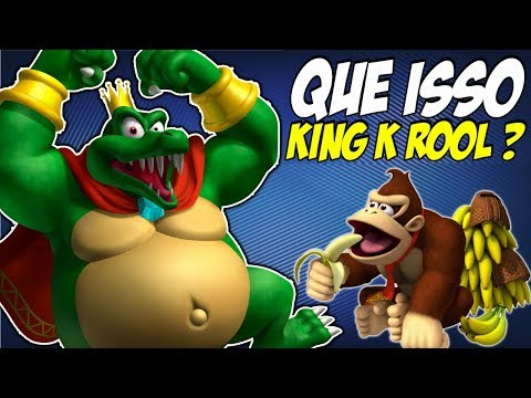 10 Verdades sobre o King K Roll de Donkey Kong