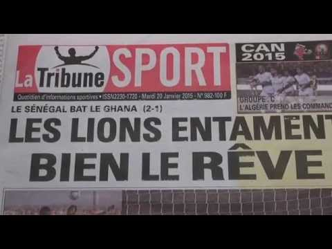 Revue Presse Foot Senegal Ghana APA