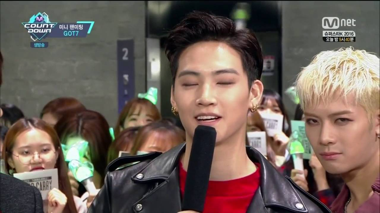 160929 M! COUNTDOWN EP494 - GOT7 CUT