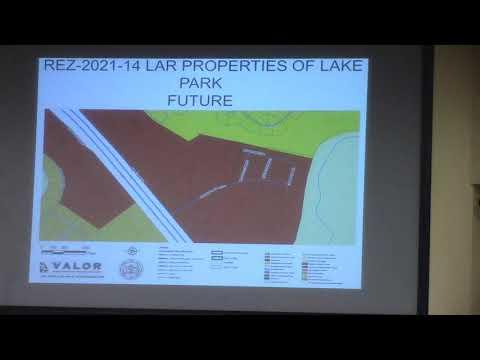 7. REZ-2021-14 LAR Properties of Lake Park 5359 Mill Store Road, P-D to C-H