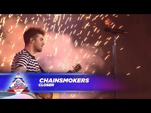 Chainsmokers - &39;Closer&39;  At Capital&39;s Jingle Bell Ball