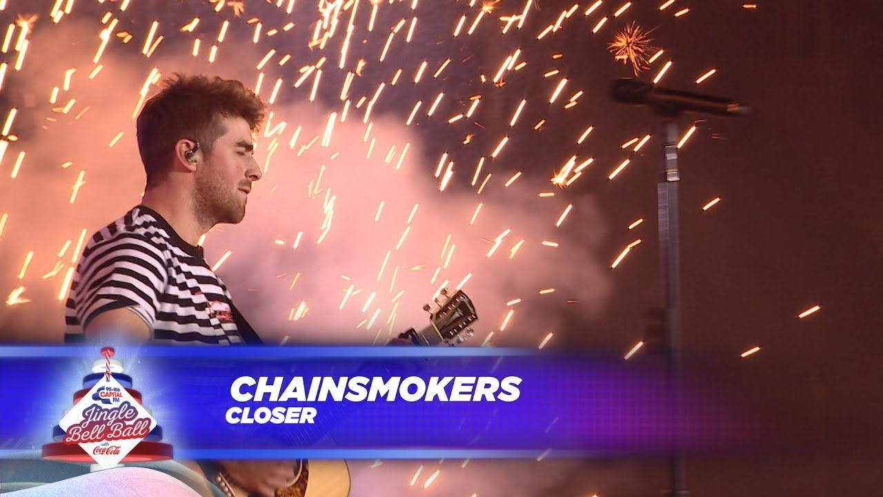 Chainsmokers Closer Live At Capitals Jingle Bell Ball 2017