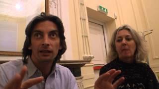 """Giancarlo Berardi e Gabriella Casolari parlano di """"In fondo agli occhi"""""""