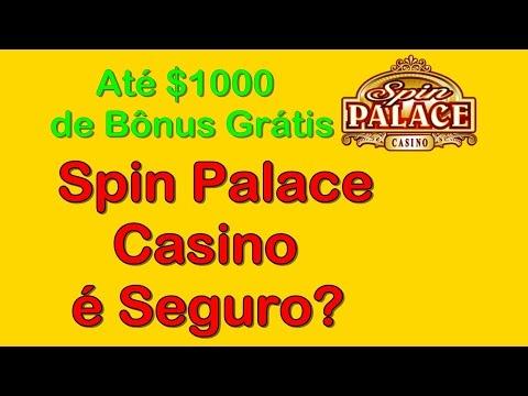 Spin Palace Casino - Até €1000 Euros de Bônus