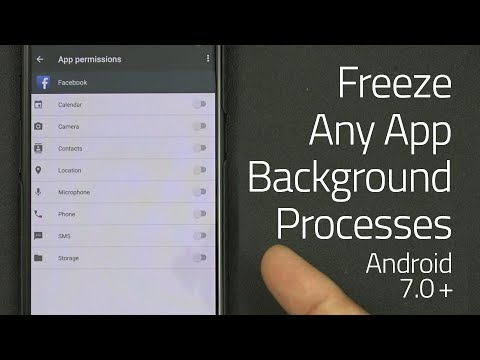 How to Freeze any App's Background Processes without Root on Android 7.0+