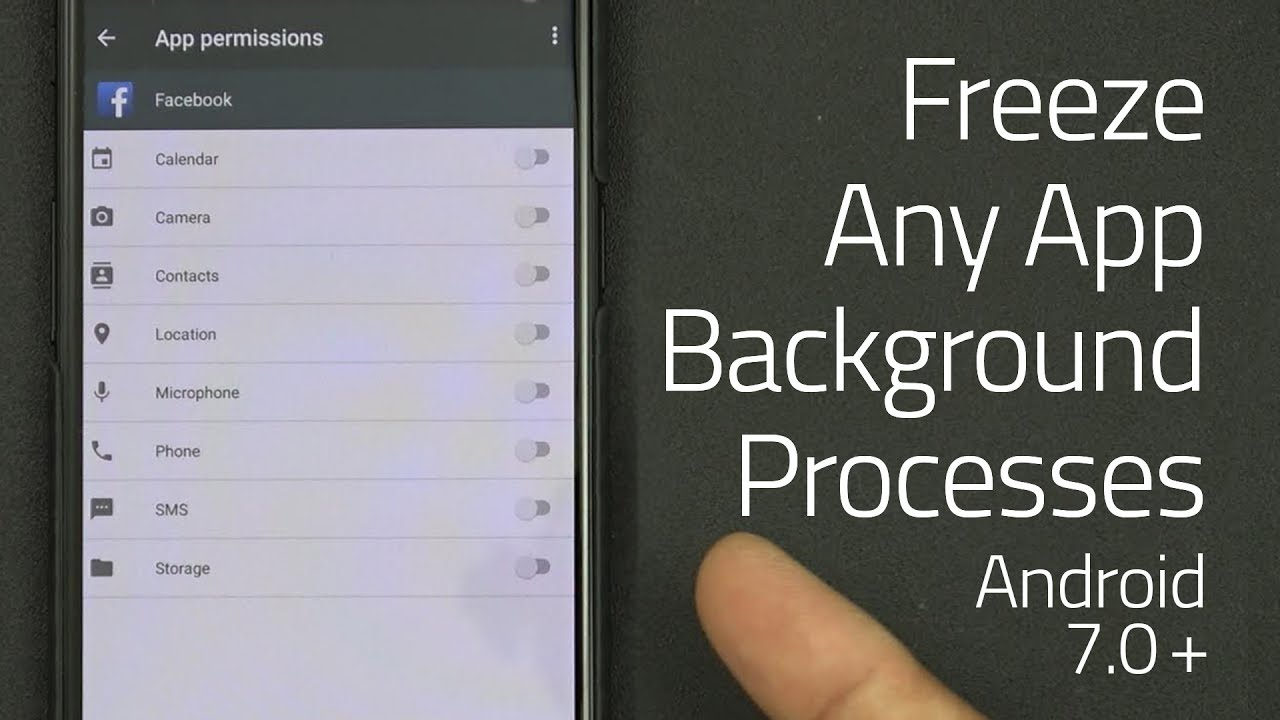 How to Freeze any App's Background Processes without Root on Android 7 0+