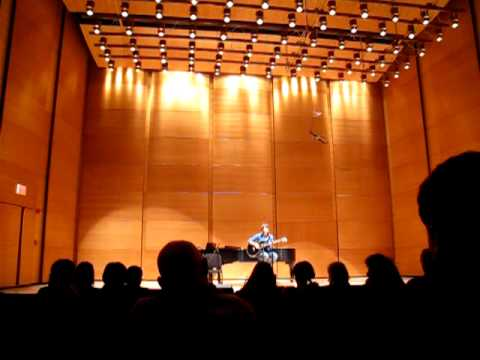 Live at Distler Auditorium for Tufts Unplugged: Atlas by Molly Newman