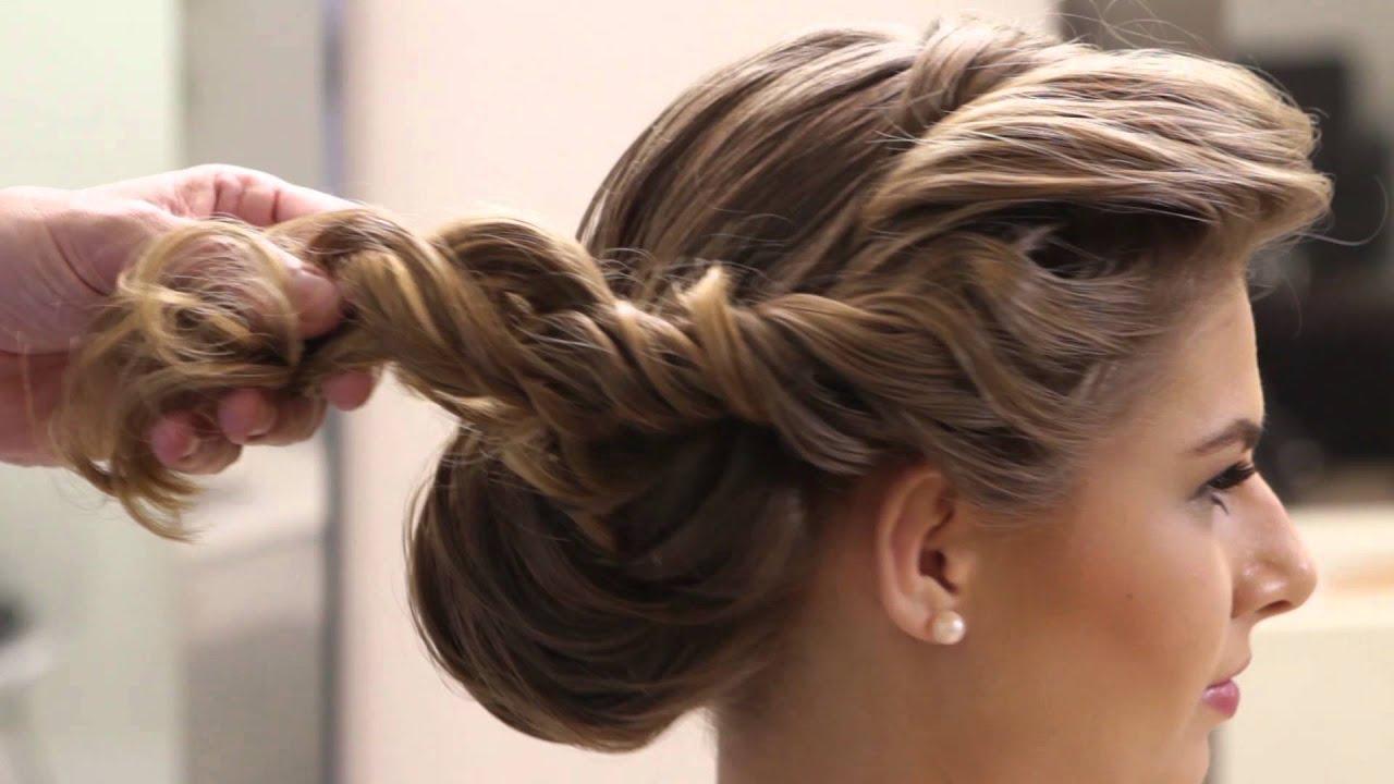 penteados fáceis torcidinho