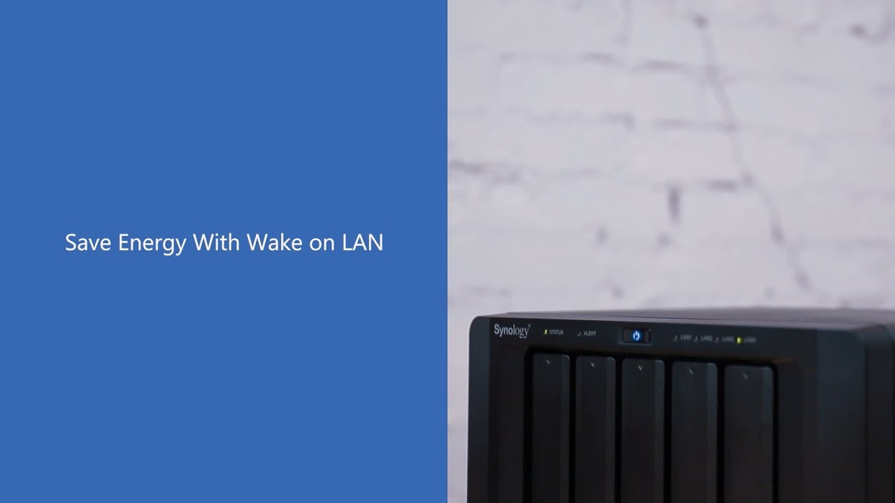 Save Energy with Wake on LAN | Synology