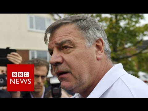 Sam Allardyce: Ex-England boss says 'entrapment has won' - BBC News