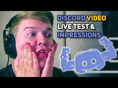 DISCORD VIDEO CHAT & SCREEN SHARE 🎥 Live Testing & First Impressions - IT'S FINALLY HERE OMG 📹