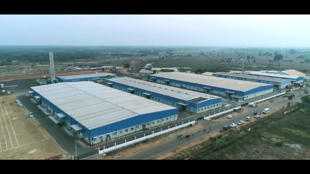 Foxconn Manufacturing Plant In Sri City Youtube
