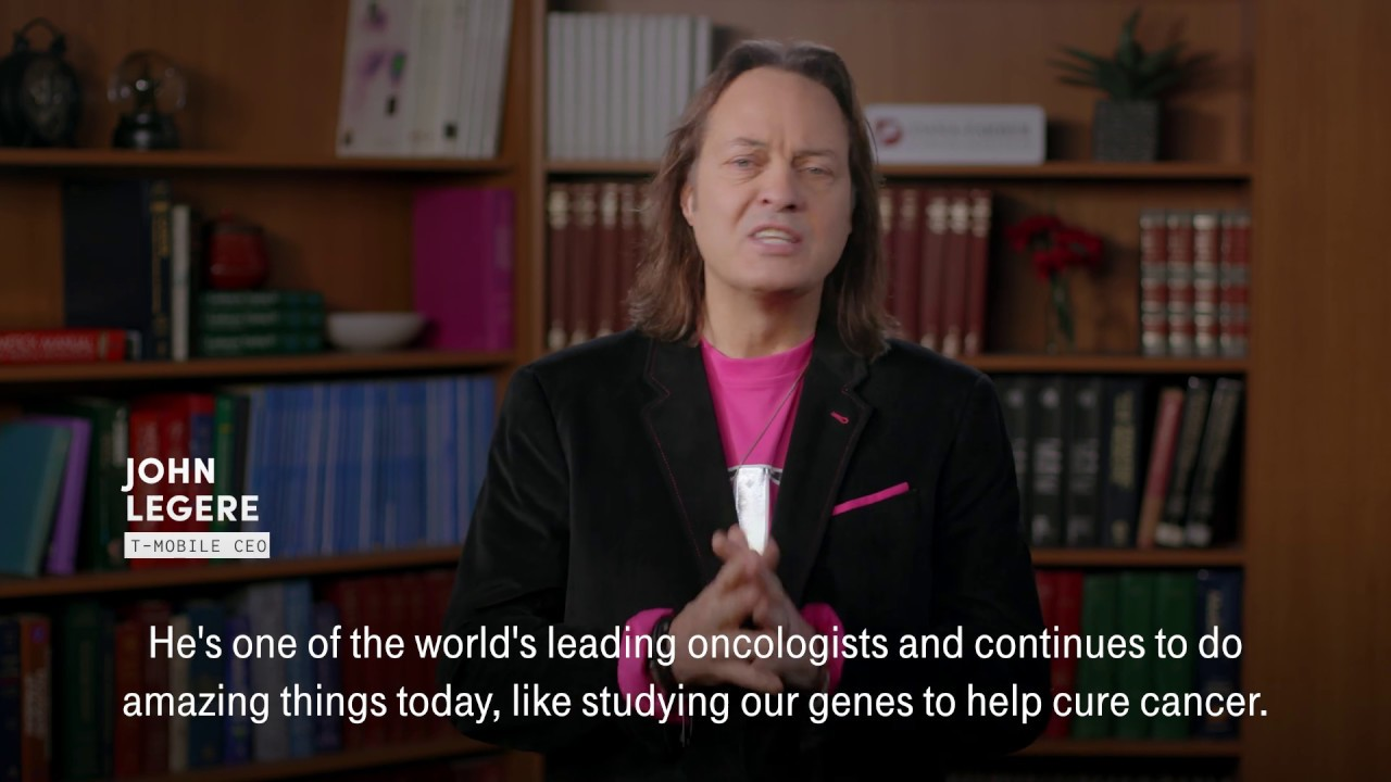 T-Mobile CEO John Legere's #MatchtoConquerCancer for Profile