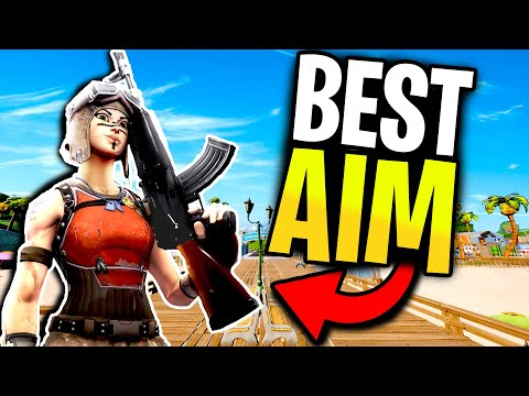 *AIM GUIDE* Have NEAR PERFECT AR Tracking Just Like Mongraal! - Fortnite Aim Improvement Tips