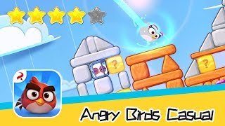 Angry Birds Casual Level 46-47 Walkthrough Sling birds to solve puzzles! Recommend index four stars