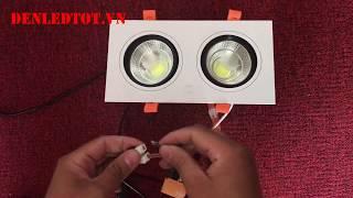 REVIEW ĐÈN LED ÂM TRẦN 14W COB TLC LIGHTING   DENLEDTOT VN