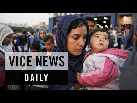 VICE News Daily: Worsening Conditions for Migrants in Greece